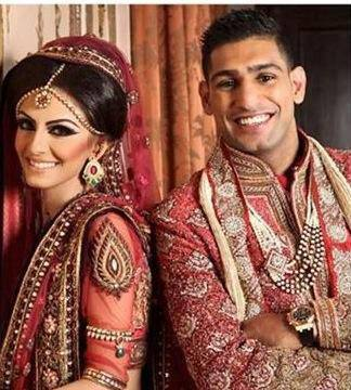 Boxer Amir Khan Wedding Pictures 01 - *^*Showbiz Competition December 2013*^*