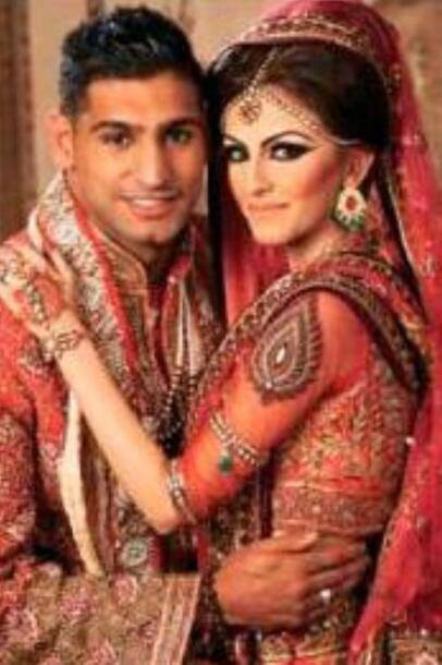 Boxer Amir Khan Wedding Pictures