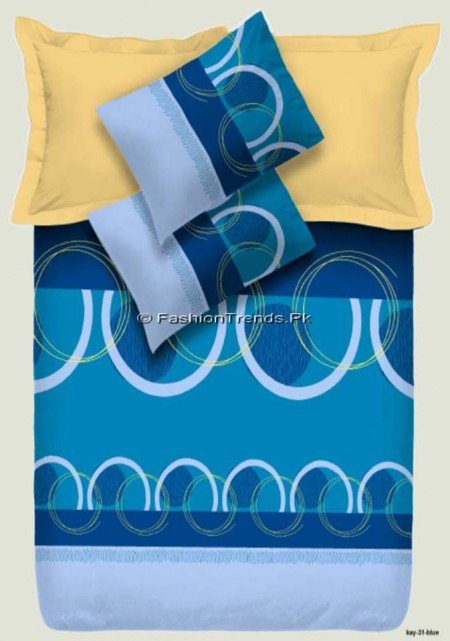 Dawood Collection Double Bed Sheet Set (3)