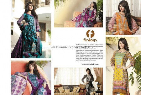 Firdous Chiffon Collection 2013 (1)