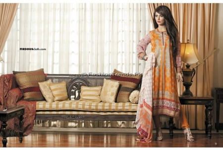 Firdous Chiffon Collection 2013 (4)
