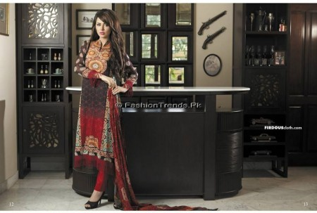 Firdous Chiffon Collection 2013 (5)