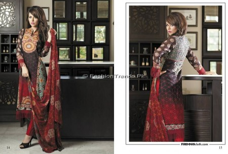 Firdous Chiffon Collection 2013 (6)