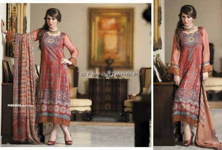 Firdous Chiffon Collection 2013 (9)