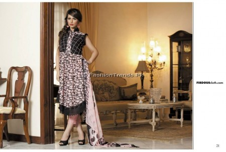 Firdous Chiffon Collection 2013 (10)