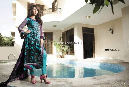Firdous Chiffon Collection 2013 (14)
