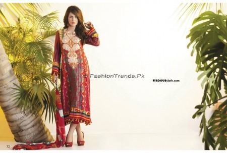 Firdous Chiffon Collection 2013 (16)