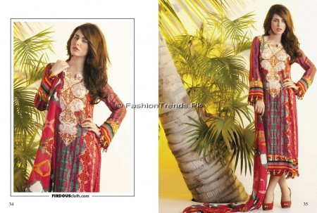 Firdous Chiffon Collection 2013 (17)