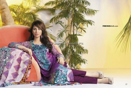 Firdous Chiffon Collection 2013 (18)