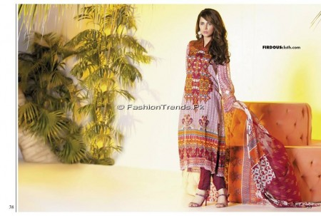 Firdous Chiffon Collection 2013 (19)