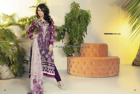 Firdous Chiffon Collection 2013 (21)