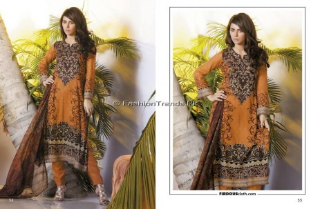 Firdous Chiffon Collection 2013 (26)
