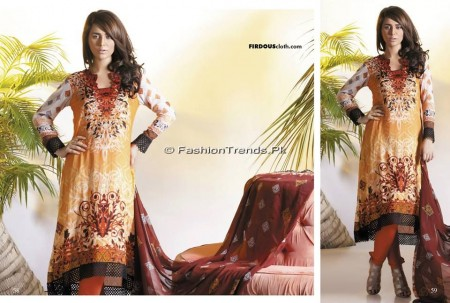 Firdous Chiffon Collection 2013 (28)