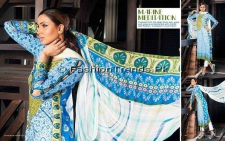 Five Star Sojourn Lawn Collection 2013 (3)