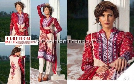 Five Star Sojourn Lawn Collection 2013 (6)