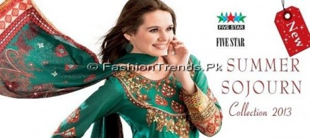 Five Star Sojourn Lawn Collection 2013 (9)