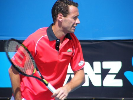 Michael Llodra Red Shirt Hot Image