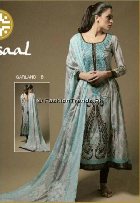 Misaal Embroidered Lawn 2013 (1)