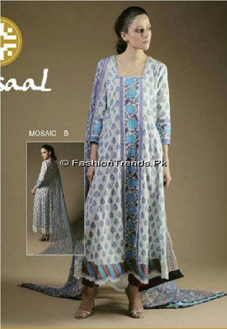 Misaal Embroidered Lawn 2013 (2)