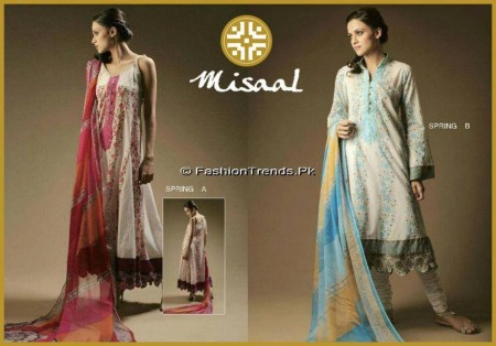 Misaal Embroidered Lawn 2013 (3)