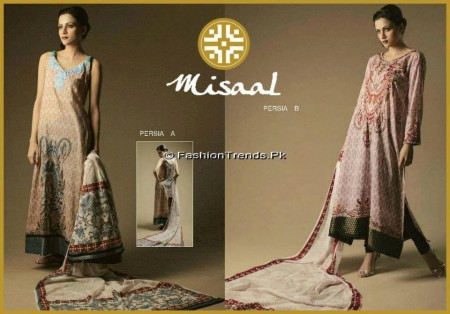 Misaal Embroidered Lawn 2013 (4)