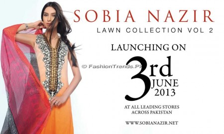 Sobia Nazir Lawn Collection 2013 Vol 2 (1)