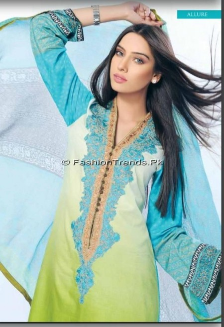Sobia Nazir Lawn Collection 2013 Vol 2 (8)