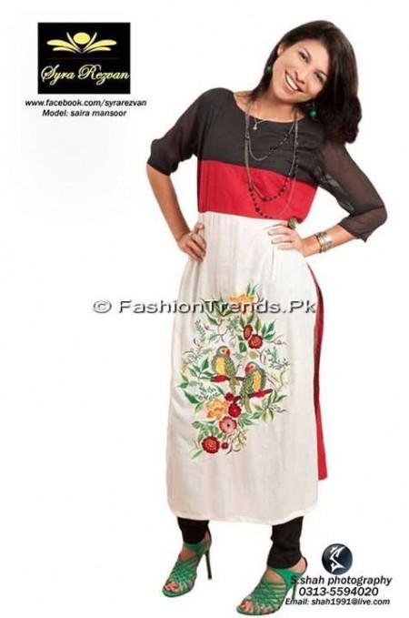 Vibgyor by Syra Casual Wear Dresses 2013 (1)