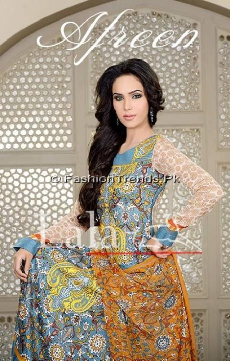 Afreen Eid Collection 2013 by Lala Textiles (1)