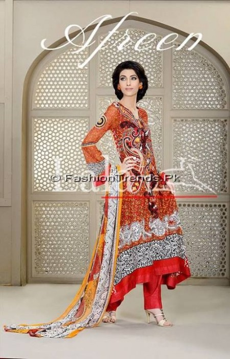 Afreen Eid Collection 2013 by Lala Textiles (4)