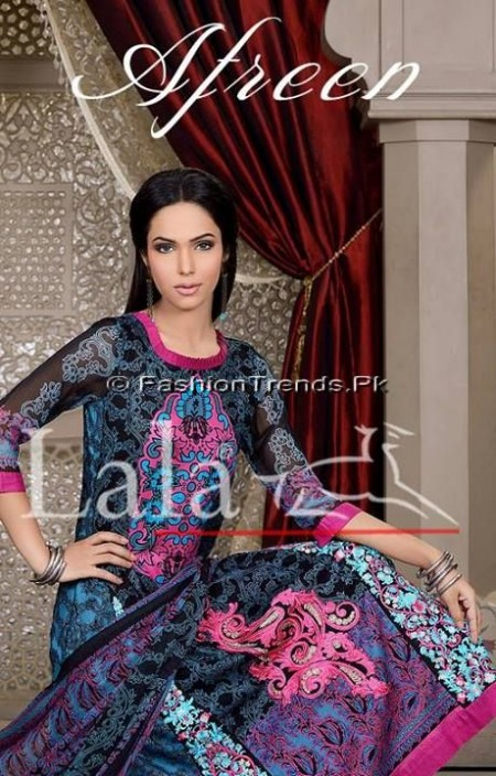 Afreen Eid Collection 2013 by Lala Textiles (6)