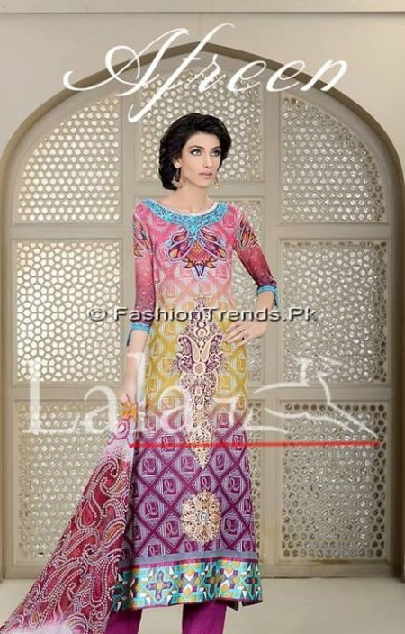 Afreen Eid Collection 2013 by Lala Textiles (7)