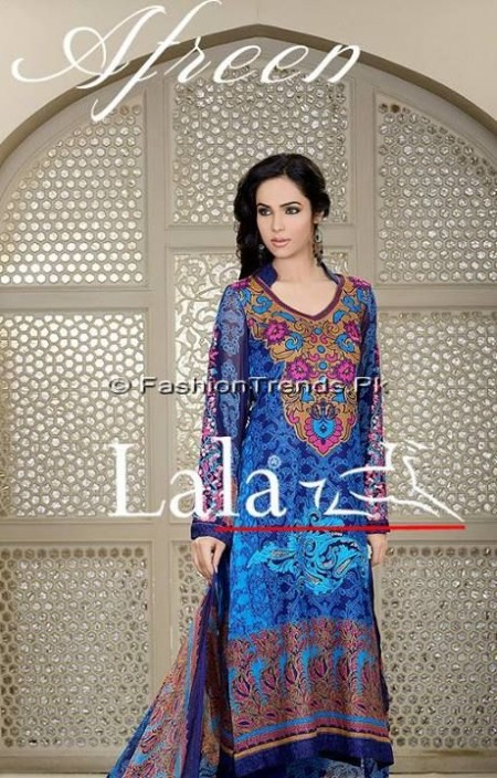 Afreen Eid Collection 2013 by Lala Textiles (9)