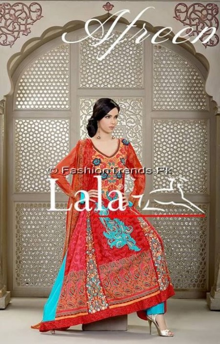 Afreen Eid Collection 2013 by Lala Textiles (11)