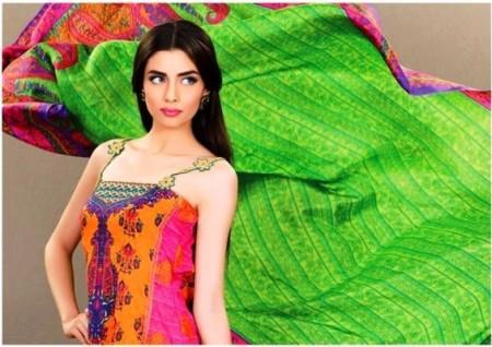 AlKaram Textiles Umar Sayeed Eid Dresses 2013
