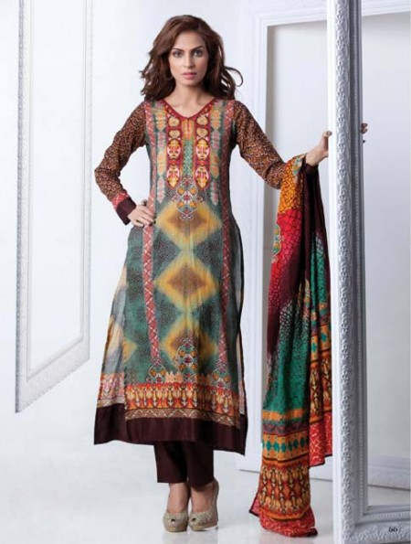 Firdous Cloth Mills Women Eid Dresses 2013