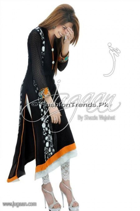 Jugaan Eid Collection 2013 For Women (1)