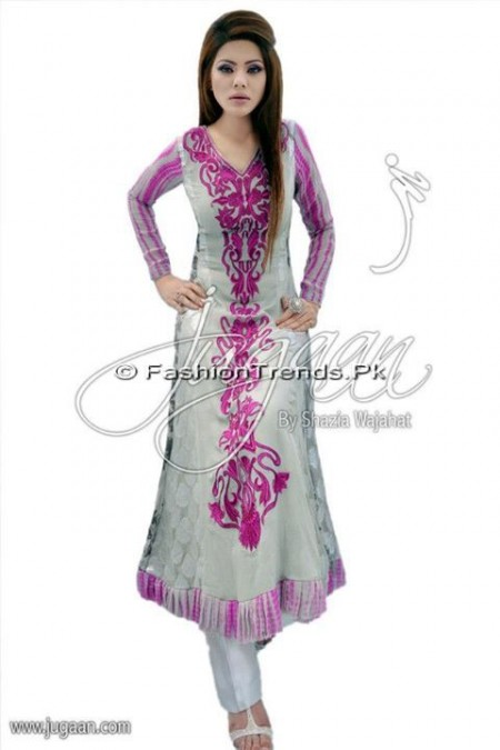 Jugaan Eid Collection 2013 For Women (2)