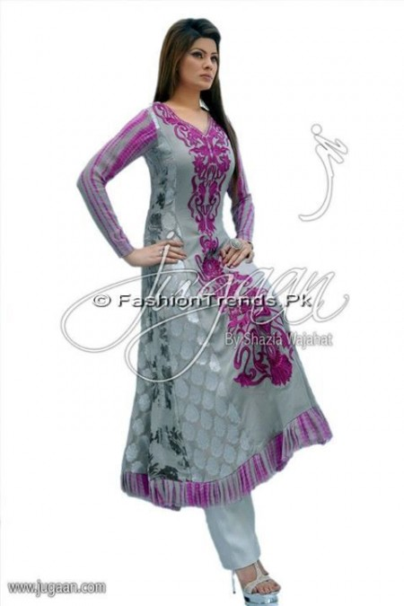 Jugaan Eid Collection 2013 For Women (3)