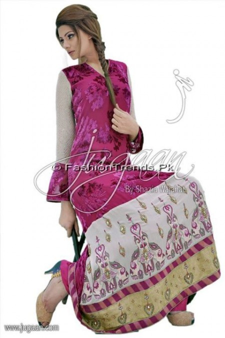 Jugaan Eid Collection 2013 For Women (4)