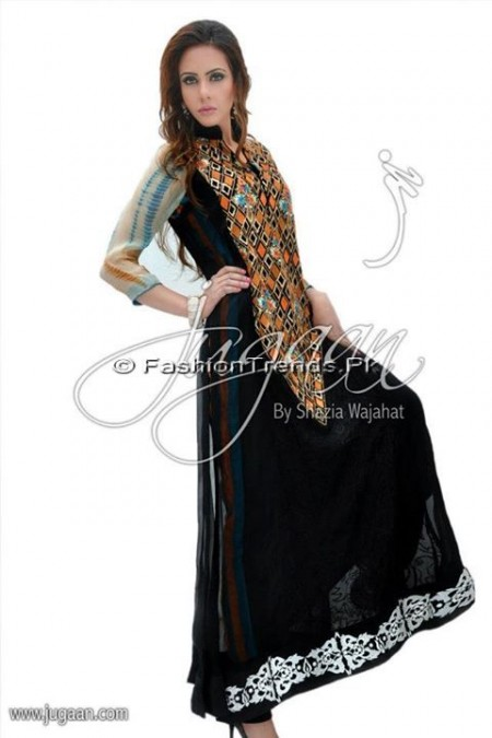 Jugaan Eid Collection 2013 For Women (6)