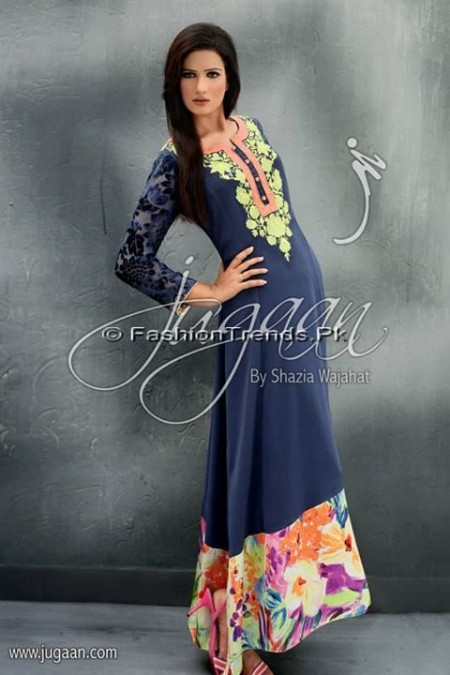 Jugaan Eid Collection 2013 For Women (7)