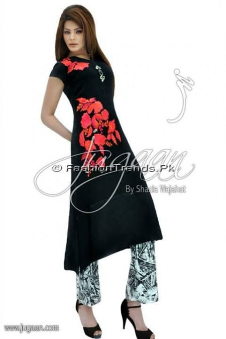 Jugaan Eid Collection 2013 For Women (9)
