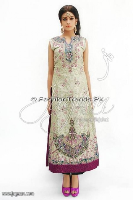 Jugaan Eid Collection 2013 For Women (15)
