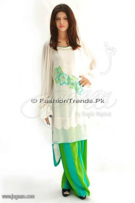 Jugaan Eid Collection 2013 For Women (18)