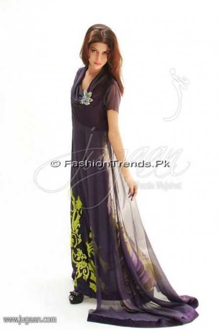 Jugaan Eid Collection 2013 For Women (19)