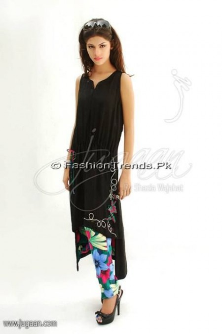 Jugaan Eid Collection 2013 For Women (20)