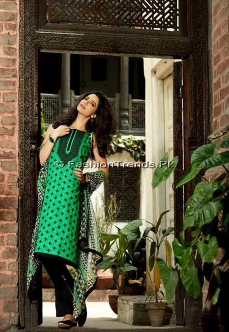 Khaadi Embroidered Eid Collection 2013 (13)