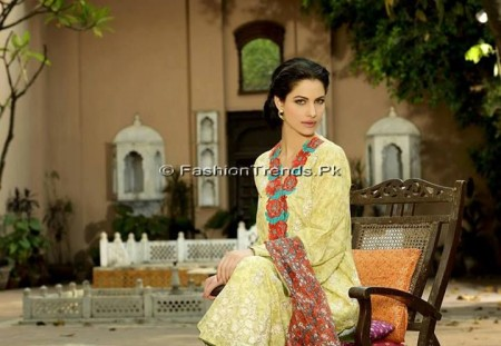 Khaadi Embroidered Eid Collection 2013 (15)
