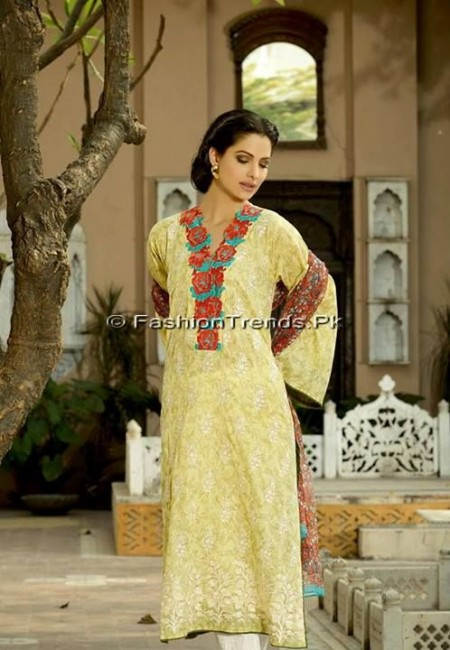Khaadi Embroidered Eid Collection 2013 (16)